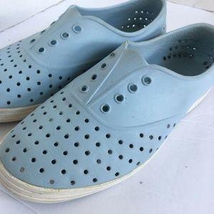 Native Shoes Jericho Size 7 Pale Blue